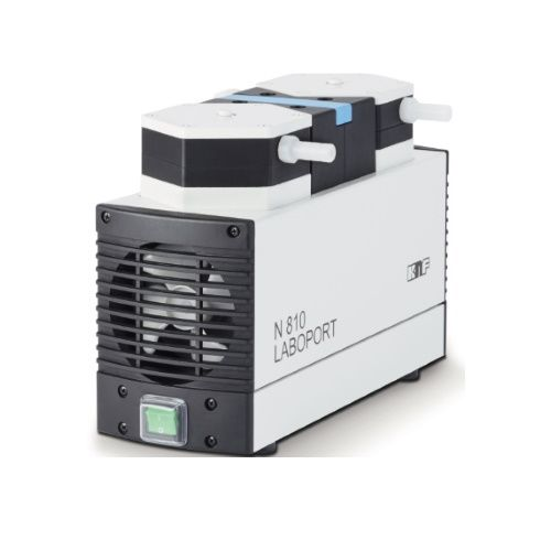 Лабораторный мембранный вакуумный насос KNF N 810-3 FT-18